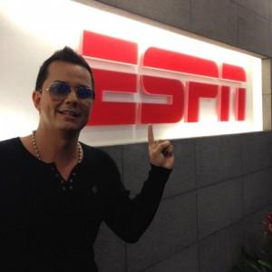 Charlie Zaa at ESPN LA 2012