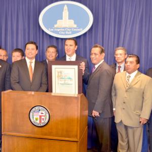 Feria del Mole Puebla Governor LA Recognition 2013