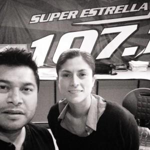 Fernanda Ulibarri At Super Estrella Radio LA 2013