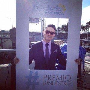 Frankie J in Miami Premio Lo Nuestro 2014