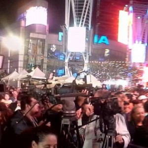 Media At Christmasland December 2014 at LA LIVE
