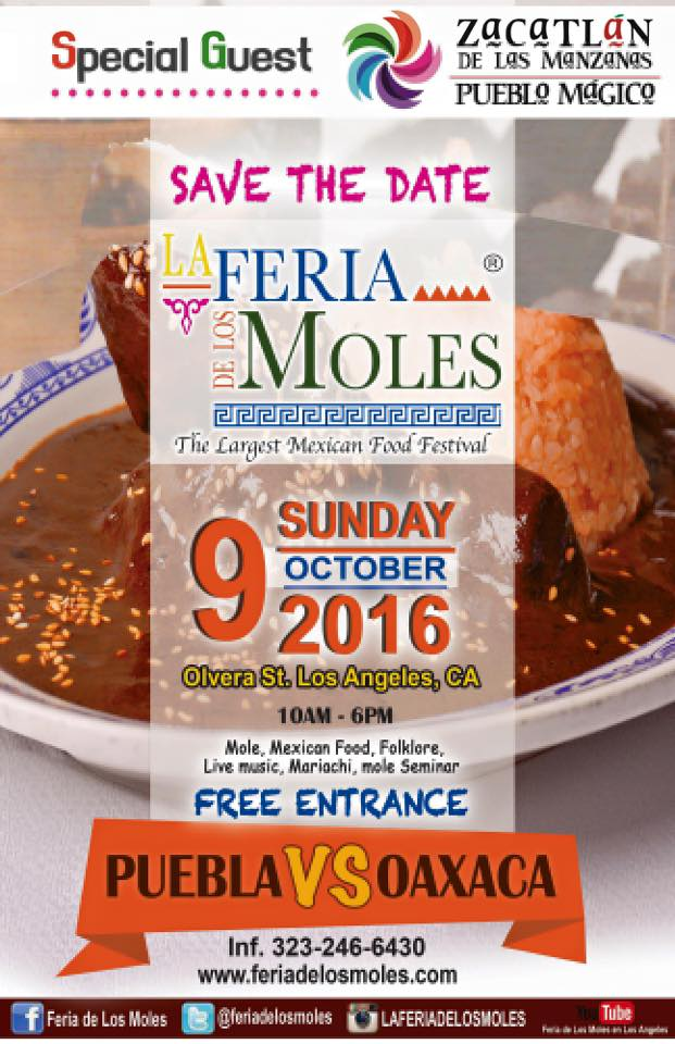 SAVE THE DATE FERIA DE LOS MOLES